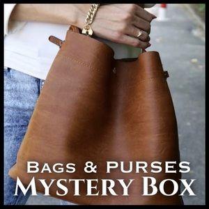 Handbags - BAGS & PURSES MYSTERY BOX (2 items) ❣️PROMO LAST🎁